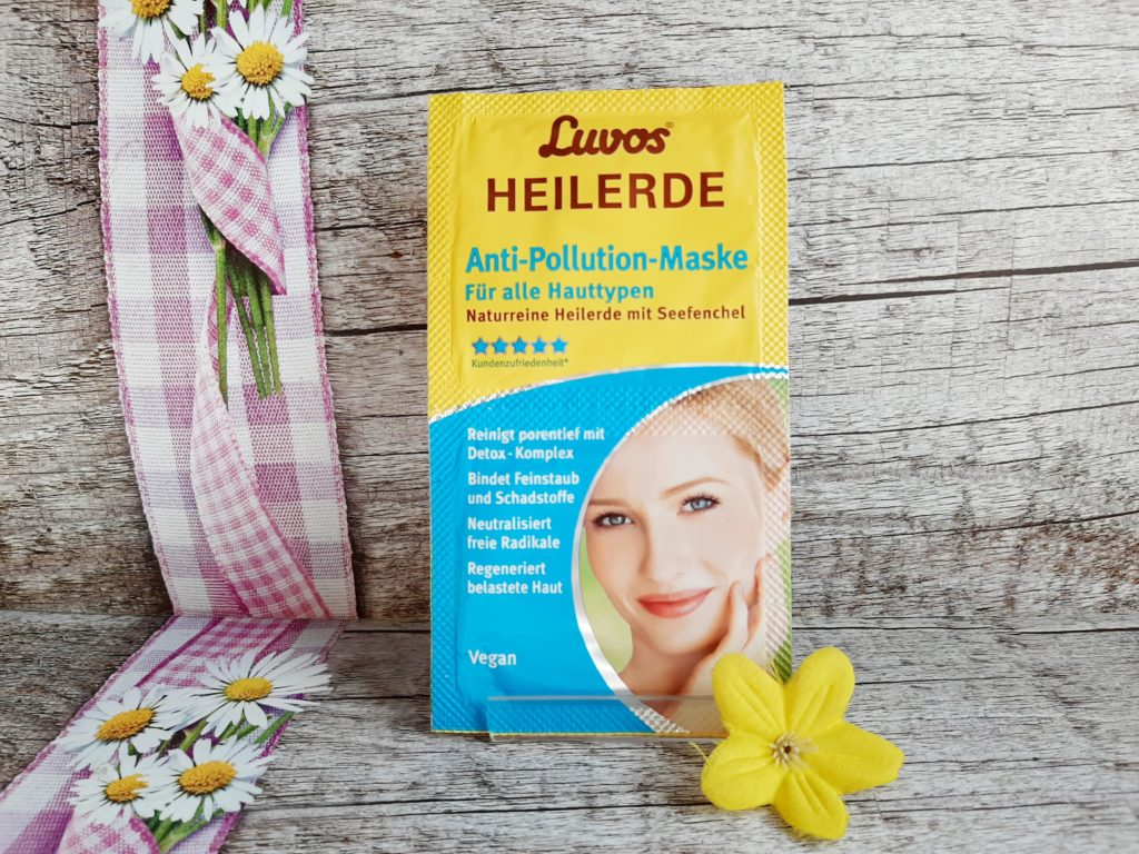 Luvos-Heilerde Anti-Pulluition-Maske