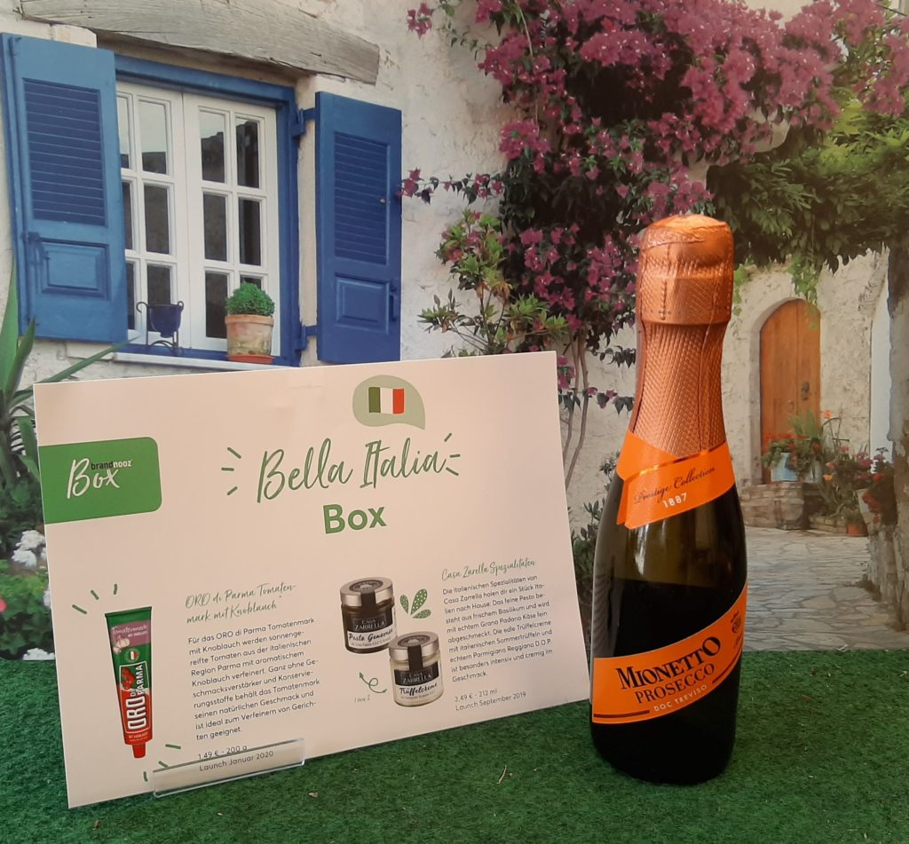 Brandnooz Box bella Italia