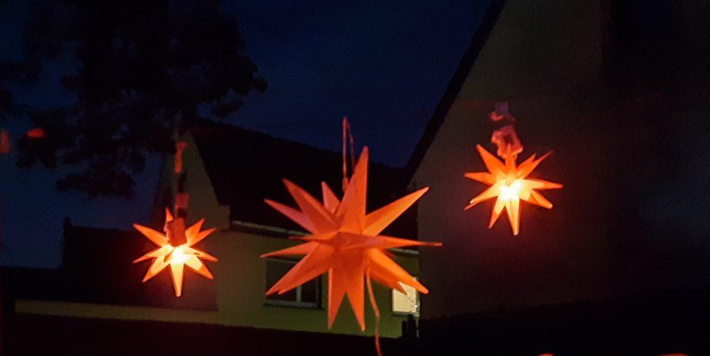 Leucht Weihnachtsstern