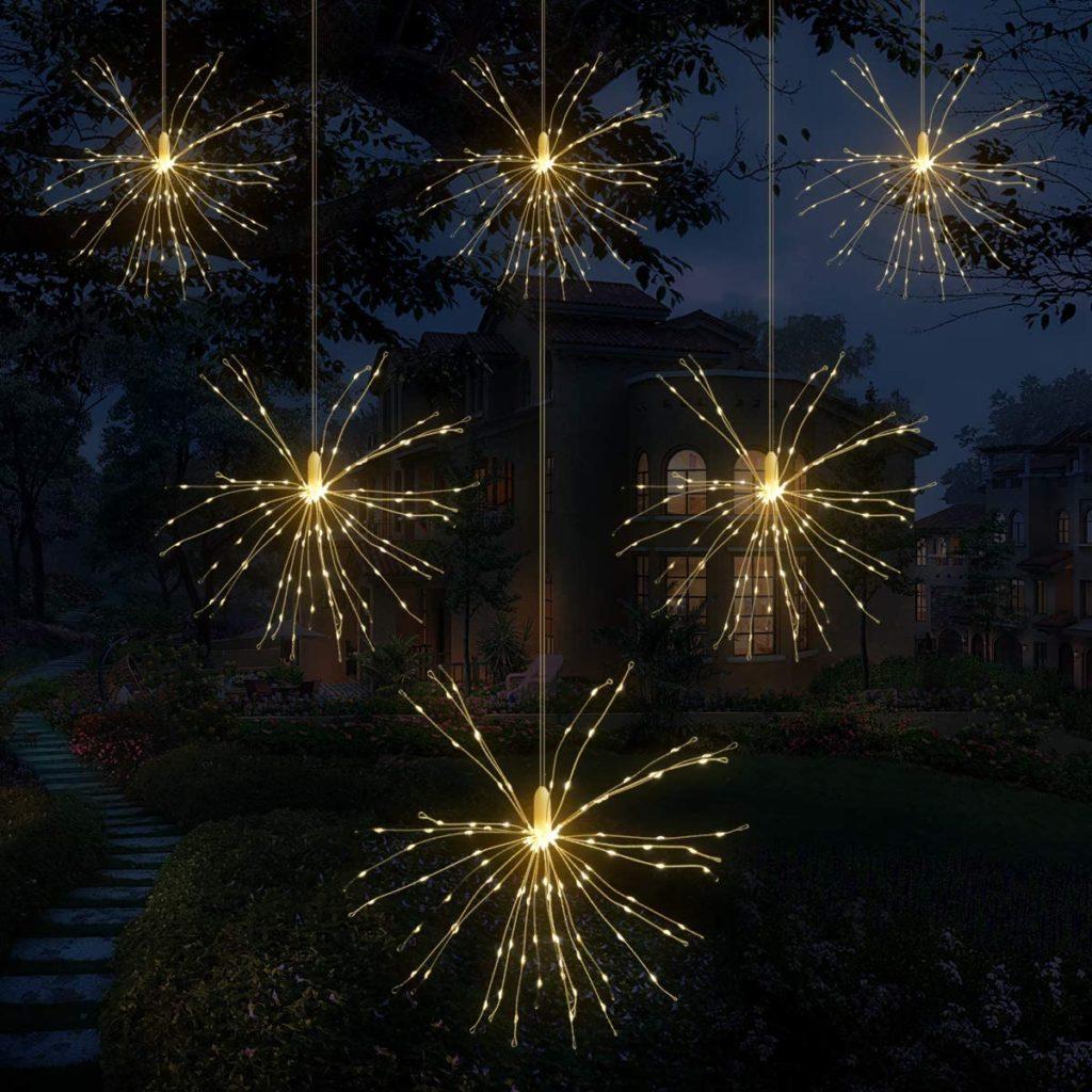 Feuerwerk Lichterkette