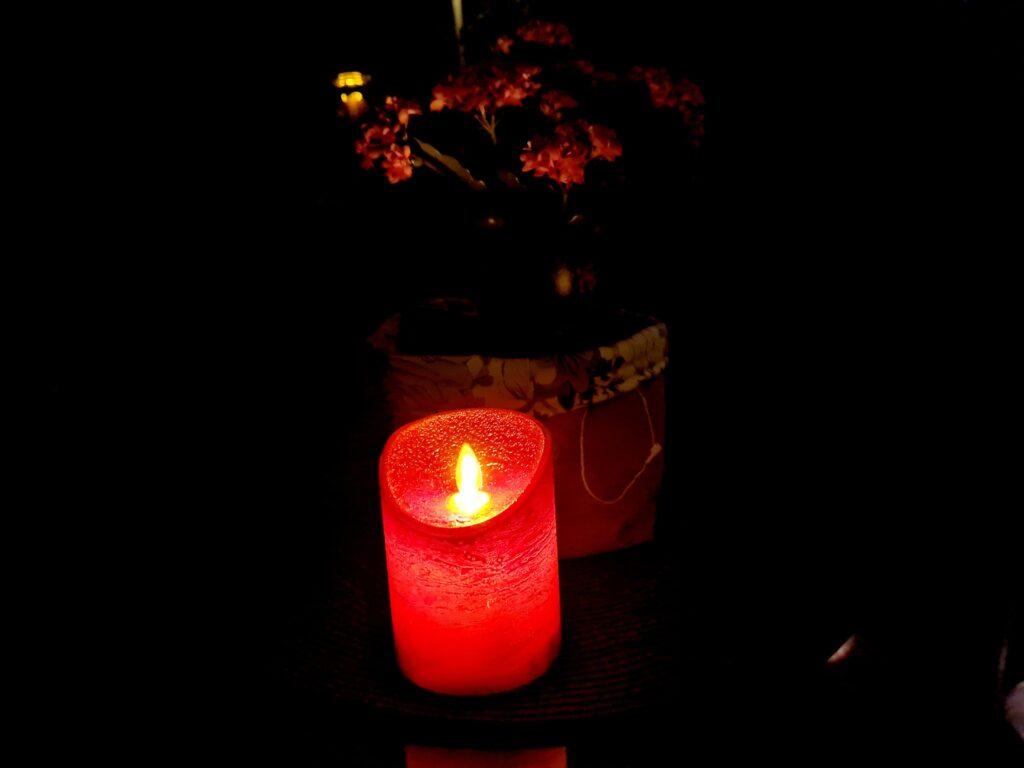 LED-Kerze